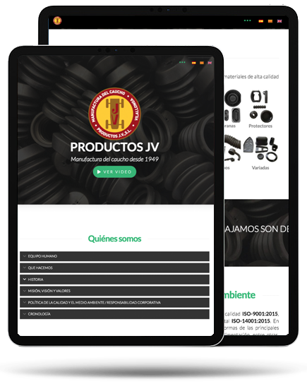 Productos JV iPad